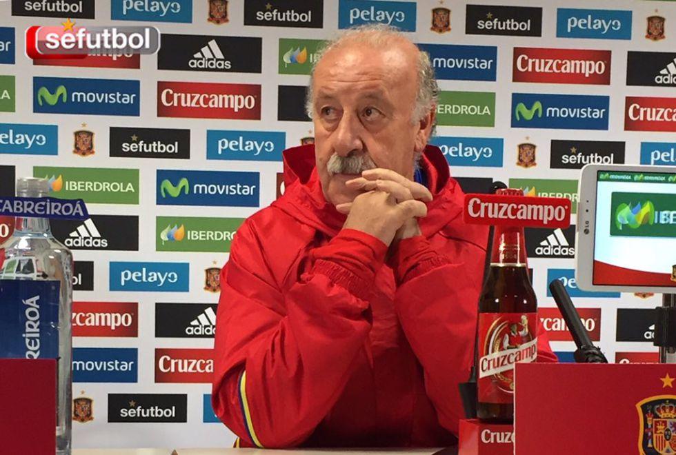 """Vicente del Bosque: """"Nosotros no hemos tenido miedo, en absoluto"""""""