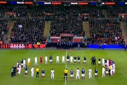 1.962.000 espectadores siguen en La 1, el Inglaterra-Francia que homenajeó a las víctimas de París