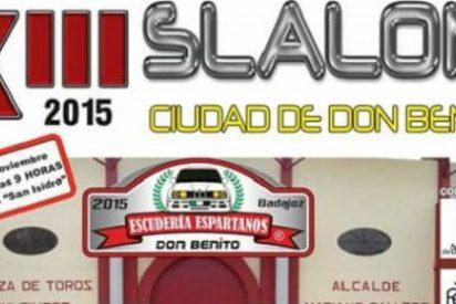 Este domingo se disputa el decisivo XIII Slalom Don Benito