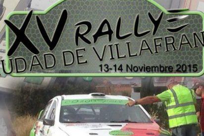 La conclusión del regional de asfalto en el XV Rallye Ciudad de Villafranca