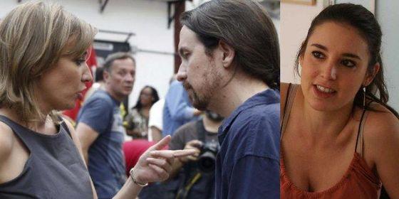 Pablo Iglesias tiene tiempo para dos novias: Irene Montero y Tania Sánchez