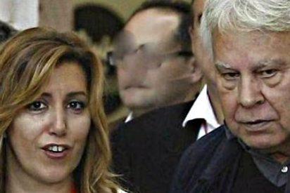 Susana Díaz exige a Podemos que se meta los referéndum independentistas por donde le quepan