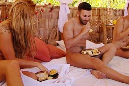 El paraíso de 'Adán y Eva' cierra la temporada en Cuatro a tortas por un chico