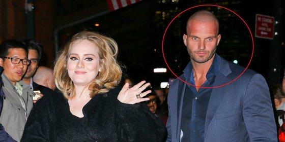 El guardaespaldas de Adele enciende las redes con sus ojos azules