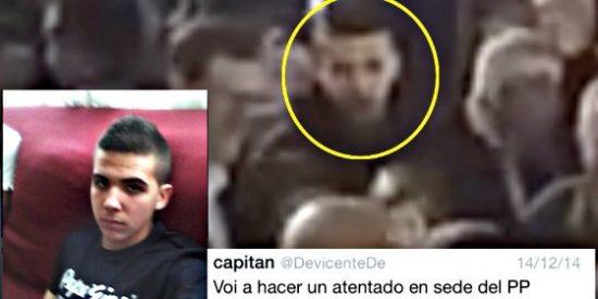 """El agresor de Mariano Rajoy en 2014: """"Voy a hacer un atentado en la sede del PP"""""""