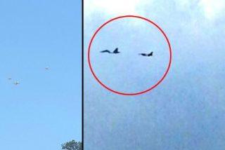 Maduro lanza a sus aviones rusos sobre Caracas para achantar al personal