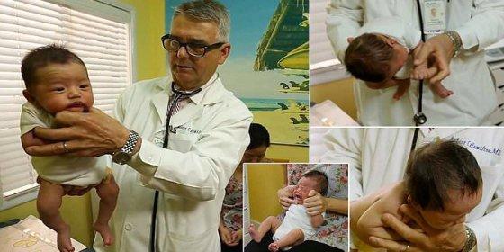 La técnica secreta para que los bebés quejicas dejen de llorar en un pispás