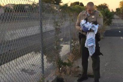 Entierran viva a una recién nacida cerca de un río en Los Ángeles