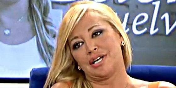 """Belén Esteban, a Toño Sanchís: """"Yo no soy tonta y he visto que las cifras no cuadran"""""""