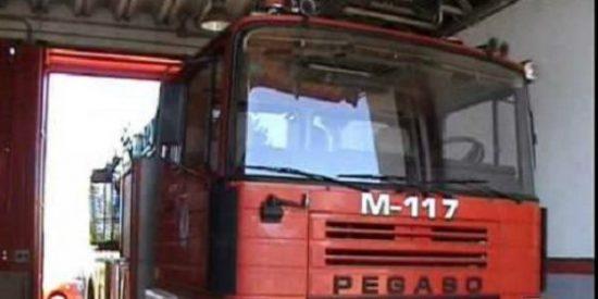 Declarado un incendio en el Colegio Dion Casio de Mérida