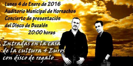 Buzalén presenta su primer disco en su localidad natal, Hornachos (Badajoz)