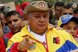 """Diosdado Cabello vomita su odio chavista contra la prensa española: """"son todos franquistas"""""""