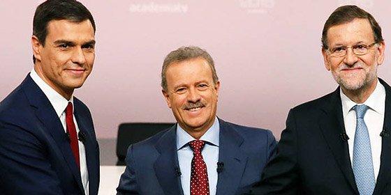 14-D: Sánchez frente a Rajoy