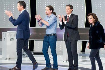 9,2 millones de espectadores (48,2%) siguen 'El debate decisivo' de Atresmedia