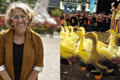 La nueva 'gansada' de Carmena: veta al pastor Miguelín y sus ocas de la Cabalgata