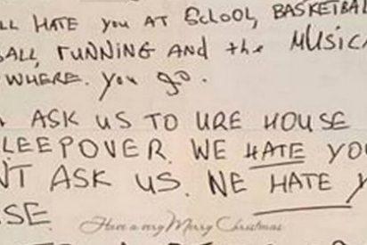 La tarjeta navideña más cruel jamás enviada a una niña