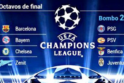 Los 'cocos' para el Real Madrid, Barça y Atlético son PSG, Juventus y Arsenal