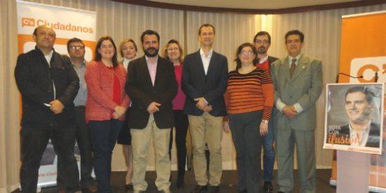 Ciudadanos (C's) Badajoz presentó a los candidatos al Congreso y al Senado por la provincia