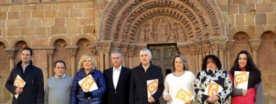 """C's presenta una candidatura con """"grandes ideas"""" para que Soria mejore"""