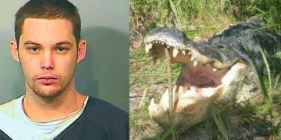 El ladrón al que se ha zampado un cocodrilo cuando huía de la Policía