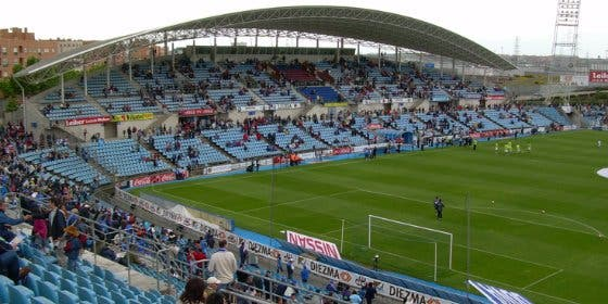 El Getafe podría cambiar de nombre a su estadio