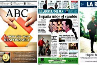 ¿Sabes a que partido apoya cada periódico español este 20-D?