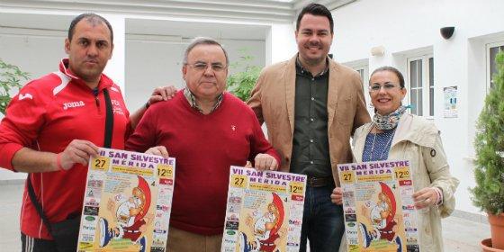 La San Silvestre en Mérida se disputará el 27 de diciembre a mediodía