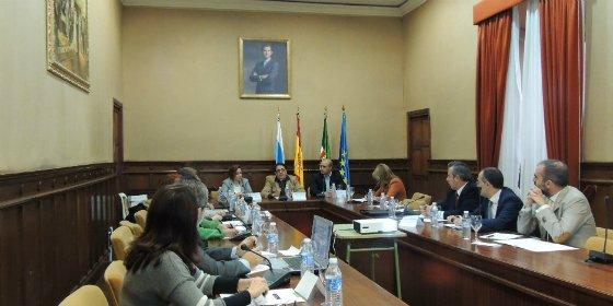 Zafra celebra un pleno del Consejo Extremeño de Consumidores