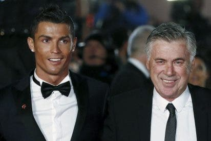 """Cristiano Ronaldo: """"Ancelotti fue una gran sorpresa, pensé que era un poco más arrogante"""""""