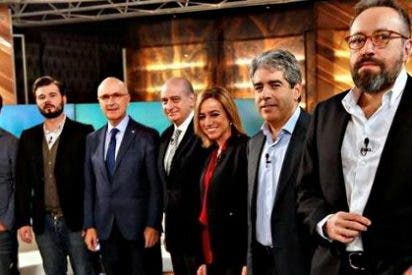 Rufián y Homs hacen el ridículo en el debate catalán