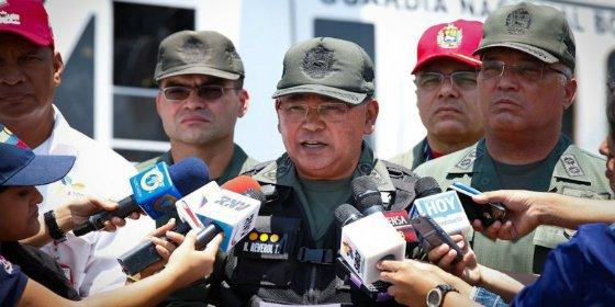 ¡En primera línea! Imputan por narcotráfico al jefe chavista de la Guardia Nacional de Venezuela