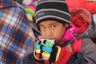 Los hijos del camino: Niños que nacen huyendo