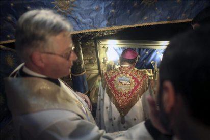 """El patriarca de Jerusalén pide por """"los millones de refugiados que viven en campamentos y chabolas"""""""
