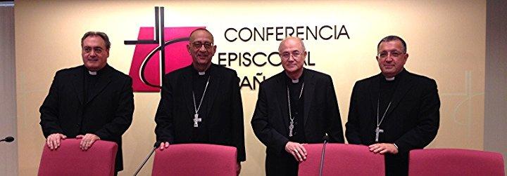 """Los obispos españoles denuncian el """"laicismo beligerantemente antirreligioso"""" de nuestra sociedad"""