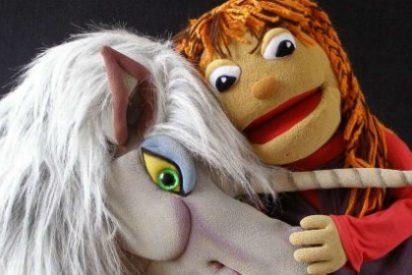 La Sala Trajano de Mérida acoge 'El unicornio de la alegría', de Marimba Marionetas