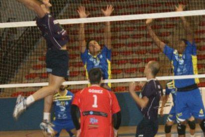 El Voleibol Electrocash Cáceres, derrotado en el pabellón Los Montecillos, de Dos Hermanas