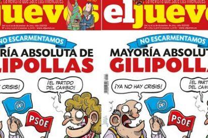 "En este país, o votas a Podemos ""o somos gilipollas"", según El Jueves"