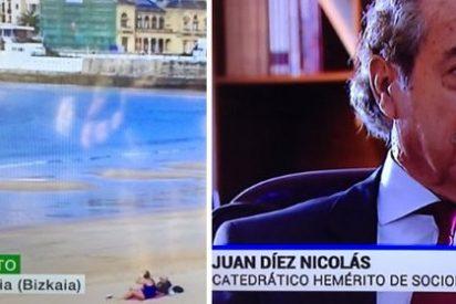 """Jornada funesta para los rótulos de informativos: del """"Donostia (Bizkaia)"""" de LaSexta, al """"hemérito"""" de TVE"""