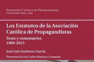 Los Estatutos de la ACdP, protagonistas del nuevo libro de José Luis Gutiérrez