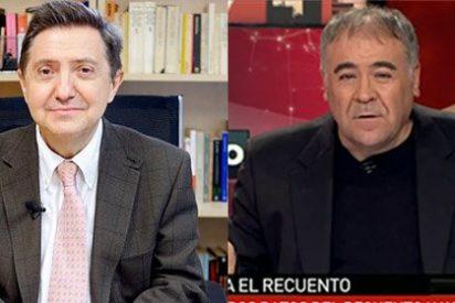 """Losantos arremete contra Ferreras: """"Un millonario comunista que es el que verdaderamente manda en España"""""""