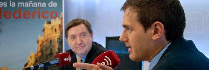 """La indignación de Losantos con Rivera: """"¡Se ha convertido en el primo pijo de Pablo Iglesias!"""""""