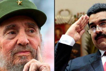 """La vergonzosa carta de amor enviada por Fidel Castro a Maduro: """"La seguridad no existe ya para nadie"""""""