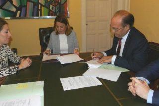 Ayuntamiento de Cáceres y Liberbank firman la operación de tesorería por 5,1 millones de euros