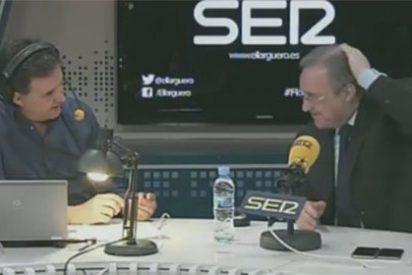 Florentino Pérez sacude de lo lindo a 'Sportyou' y AS por publicar que había prohibido a Real Madrid TV que le grabaran la coronilla
