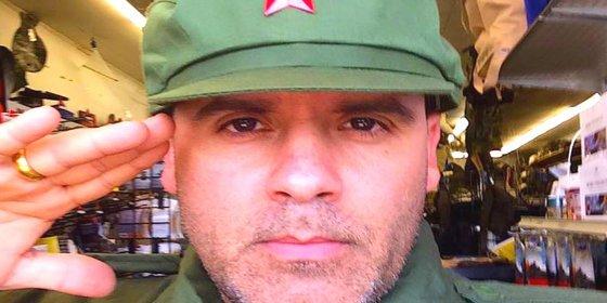 """Así amenaza el 'hijo bastardo' de Fidel Castro a los venezolanos: """"Quemaron mi bandera, hijos de puta"""""""