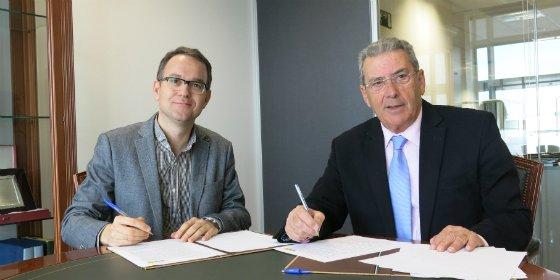 Fundación Caja Badajoz y FundeSalud firman un convenio para apoyo y fomento de la investigación clínica en Extremadura