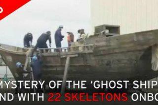 Una misteriosa flota fantasma repleta de cadáveres aparece en Japón