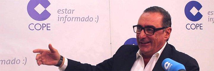 """Carlos Herrera: """"Pedro Sánchez quedó ayer como un señor que insulta"""""""