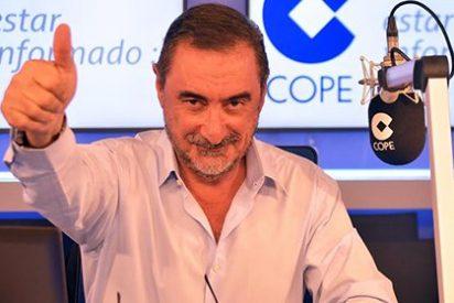 EGM: Euforia en COPE: Carlos Herrera sube un millón de oyentes en su estreno