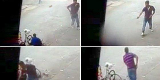 Así mata el adolescente a un mendigo en plena calle solo para divertirse